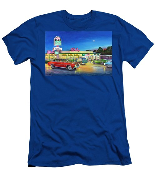 Muscle Car Cruise Night Men's T-Shirt (Athletic Fit)