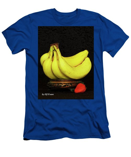Men's T-Shirt (Athletic Fit) featuring the photograph Mellow Yellows And Red by Elf Evans