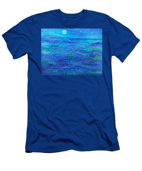 Midnight Swim Men's T-Shirt (Athletic Fit)