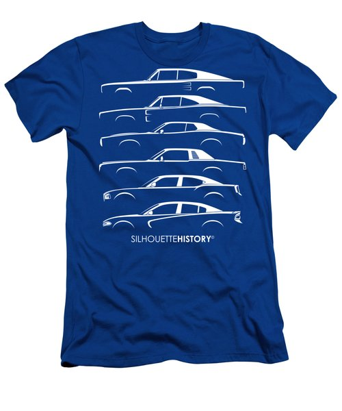 Muscle Charlie Silhouettehistory Men's T-Shirt (Athletic Fit)