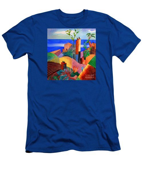 My Dream Vacation Men's T-Shirt (Athletic Fit)