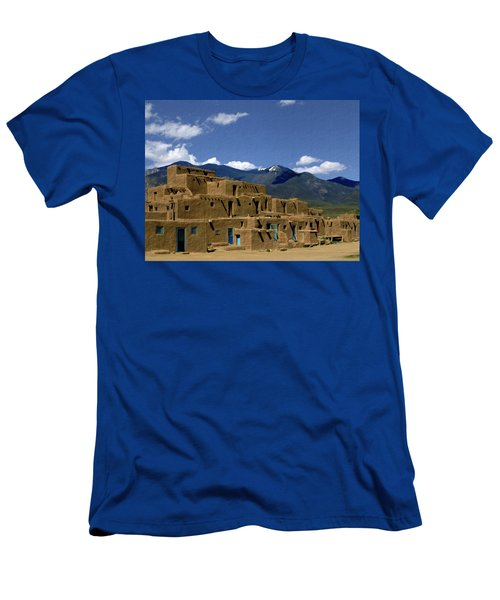 North Pueblo Taos Men's T-Shirt (Athletic Fit)
