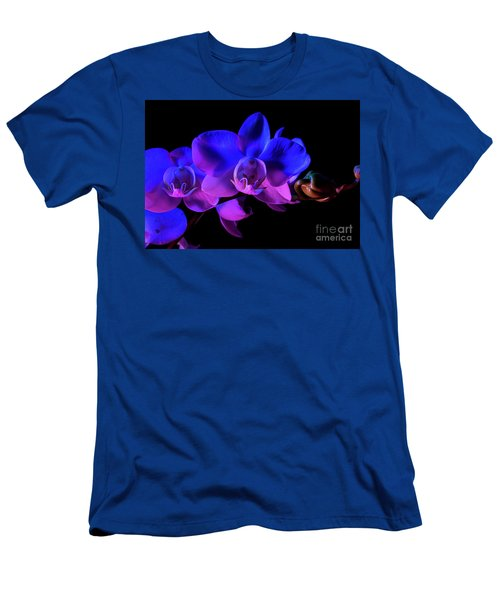 Orchid Men's T-Shirt (Slim Fit) by Brian Jones