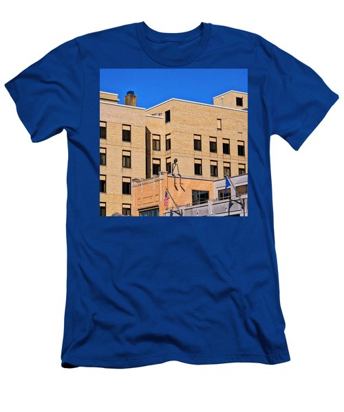 Person On Building 2 - Madison - Wisconsin Men's T-Shirt (Athletic Fit)