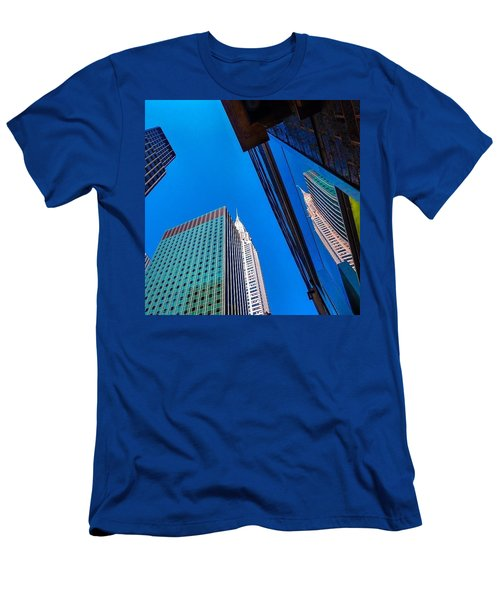 Photoshopping #tbt #nyc Summer Of 2013 Men's T-Shirt (Athletic Fit)
