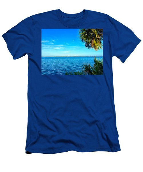 Private Paradise Men's T-Shirt (Slim Fit) by Carlos Avila