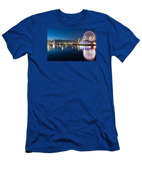 Science World Vancouver Men's T-Shirt (Slim Fit) by Sabine Edrissi