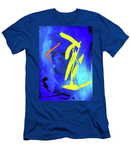 Men's T-Shirt (Athletic Fit) featuring the photograph Space Dance by Elf Evans