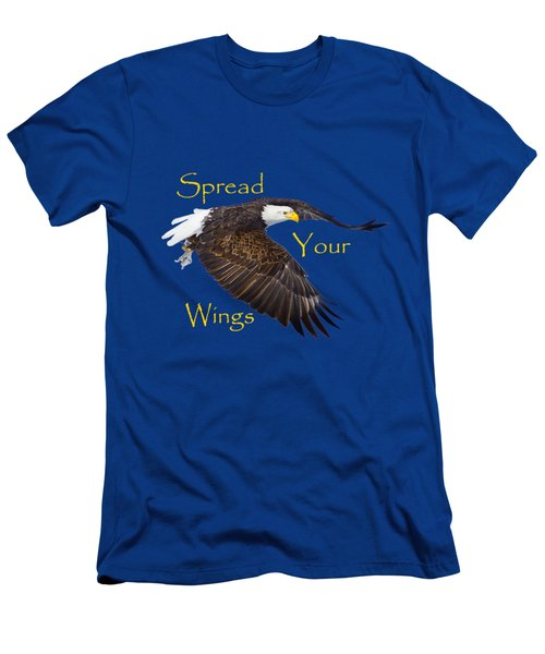 Spread Your Wings Men's T-Shirt (Slim Fit) by Greg Norrell