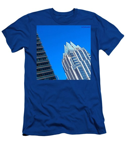 Such A Perfect #bluesky Day In Men's T-Shirt (Athletic Fit)