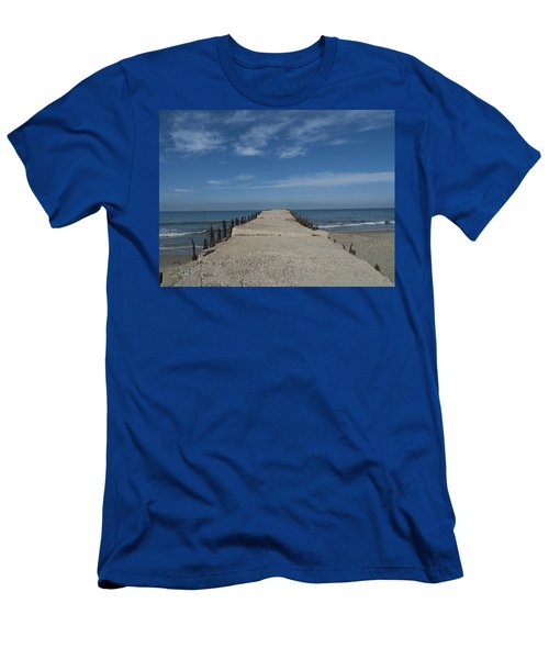 Tel Aviv Old Port 3 Men's T-Shirt (Athletic Fit)