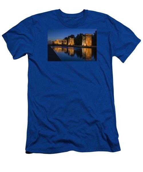Templo De Debod Men's T-Shirt (Slim Fit) by Ross G Strachan