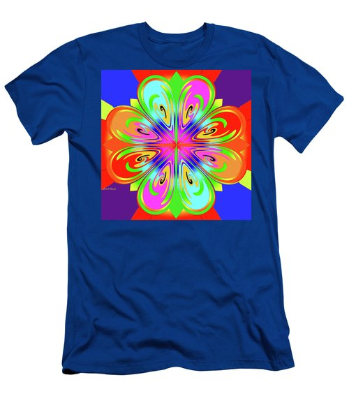 Tribute To Peter Max Men's T-Shirt (Athletic Fit)