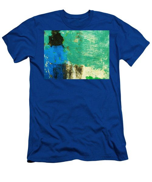 Wall Abstract 70 Men's T-Shirt (Slim Fit) by Maria Huntley