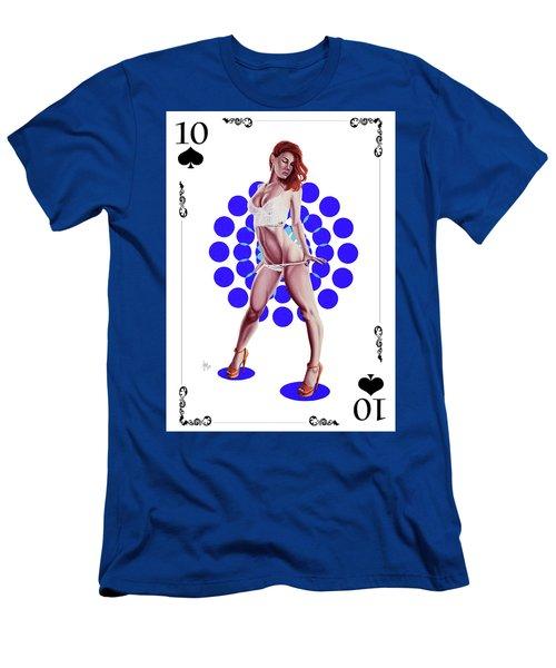 10 Of Spades Men's T-Shirt (Athletic Fit)