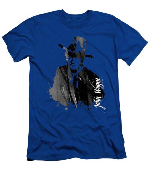 John Wayne Collection Men's T-Shirt (Slim Fit) by Marvin Blaine