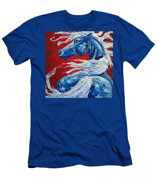 #14 July 4th Men's T-Shirt (Athletic Fit)