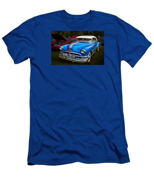 1952 Blue Pontiac Catalina Chiefton Classic Car Men's T-Shirt (Athletic Fit)