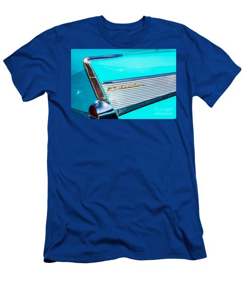 1957 Chevy Bel Air Rear Fin Men's T-Shirt (Athletic Fit)