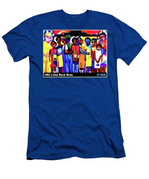1957 Little Rock Nine Men's T-Shirt (Athletic Fit)