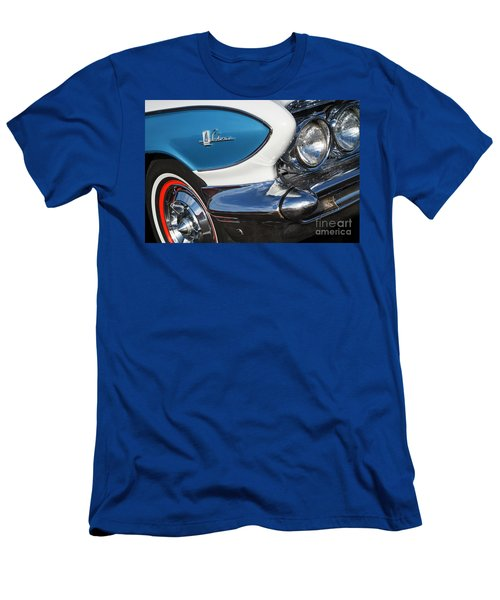 Men's T-Shirt (Slim Fit) featuring the photograph 1961 Buick Le Sabre by Dennis Hedberg