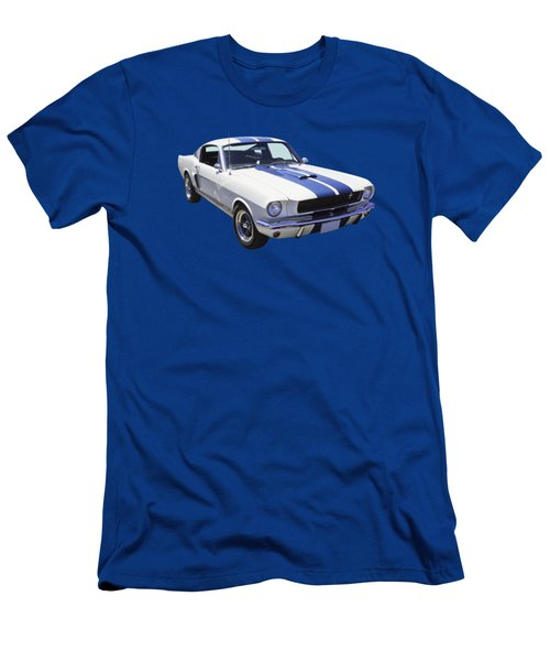 1965 Gt350 Mustang Muscle Car Men's T-Shirt (Athletic Fit)