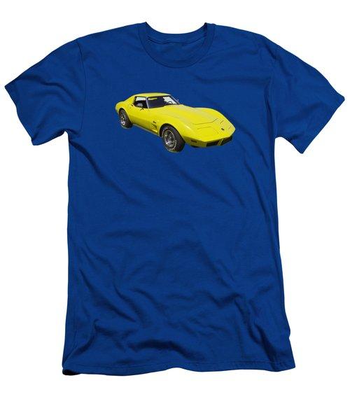 1975 Corvette Stingray Sportscar Men's T-Shirt (Athletic Fit)
