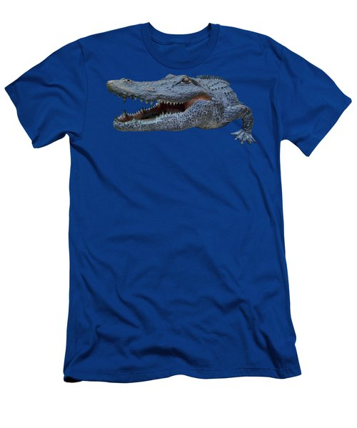 1998 Bull Gator Up Close Transparent For Customization Men's T-Shirt (Athletic Fit)