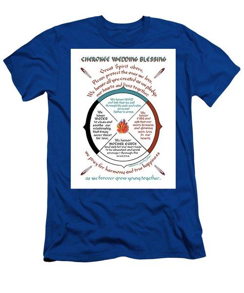 Cherokee Wedding Blessing Men's T-Shirt (Athletic Fit)