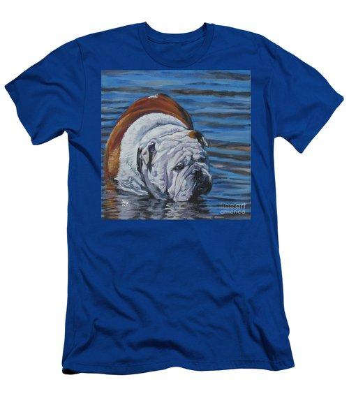 English Bulldog Men's T-Shirt (Athletic Fit)