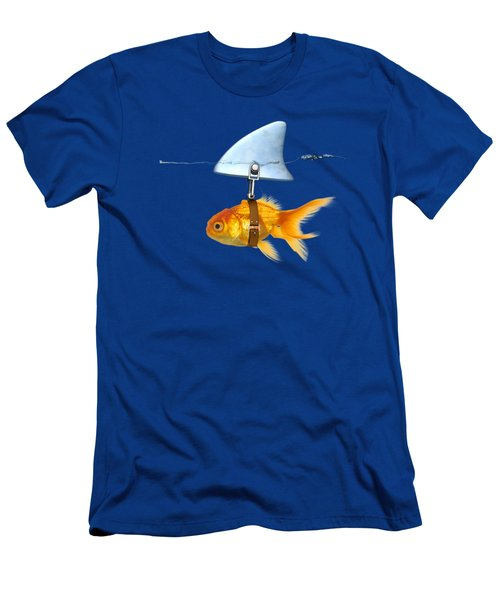 Gold Fish  Men's T-Shirt (Athletic Fit)