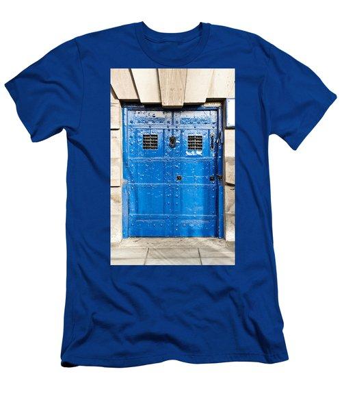 Old Blue Door Men's T-Shirt (Athletic Fit)