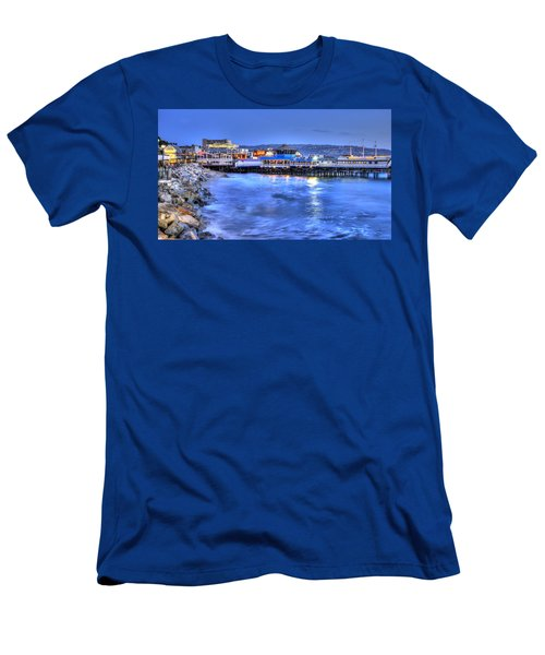 Redondo Landing At Night Men's T-Shirt (Athletic Fit)