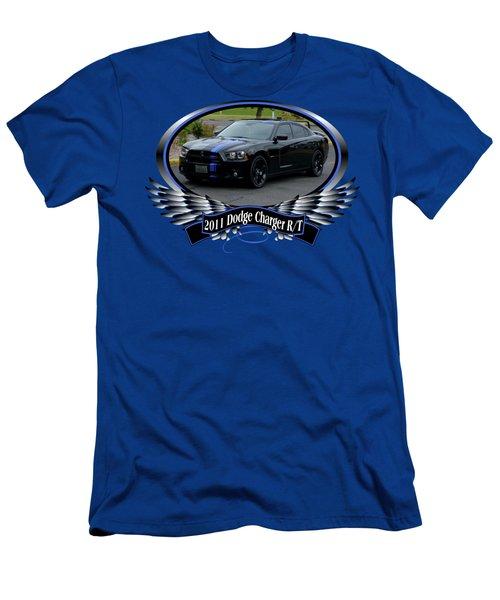 2011 Dodge Charger Rt Lopez Men's T-Shirt (Athletic Fit)