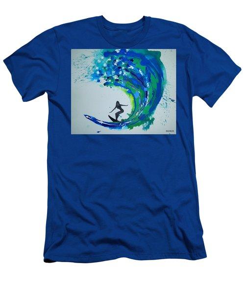 Badwave Men's T-Shirt (Athletic Fit)