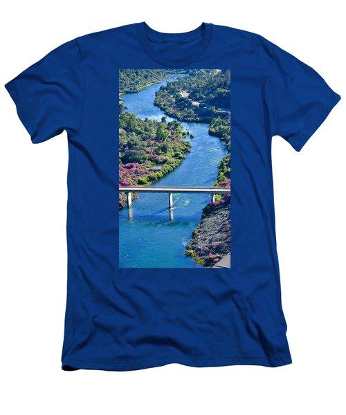 Shasta Dam Spillway Men's T-Shirt (Athletic Fit)