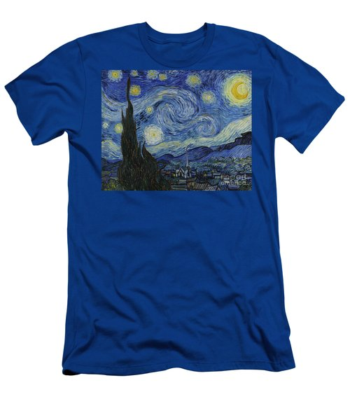 The Starry Night Men's T-Shirt (Athletic Fit)