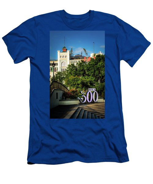 300 Years Of New Orleans Men's T-Shirt (Athletic Fit)