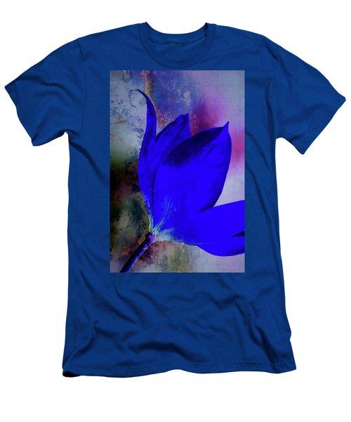 Texture Flowers Men's T-Shirt (Slim Fit) by Andre Faubert