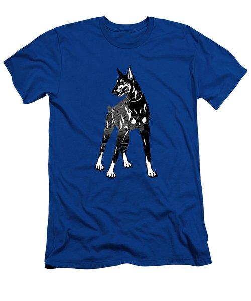 Doberman Pinscher Collection Men's T-Shirt (Athletic Fit)