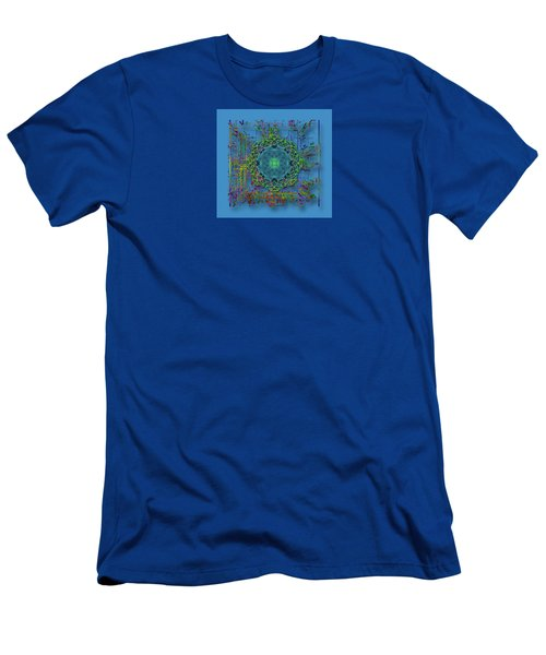 Men's T-Shirt (Slim Fit) featuring the photograph 4402 by Peter Holme III
