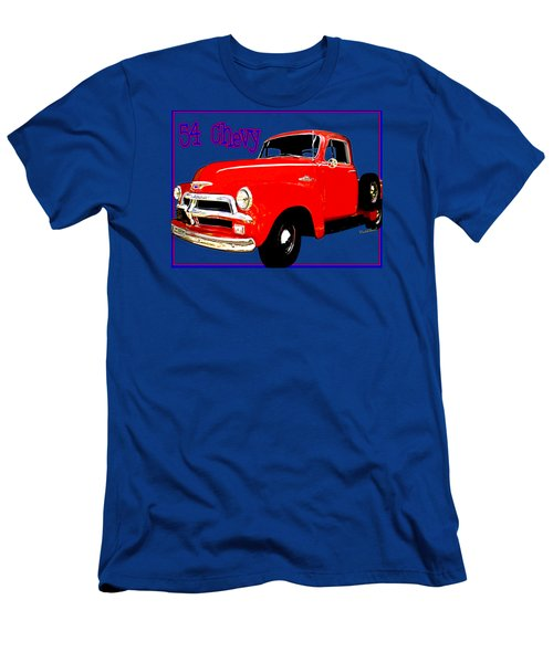 54 Chevy Pickup Acme Of An Age Men's T-Shirt (Athletic Fit)