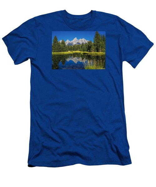 #5700 - Shwabakers Landing, Wyoming Men's T-Shirt (Athletic Fit)