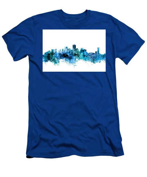New Orleans Louisiana Skyline Men's T-Shirt (Athletic Fit)