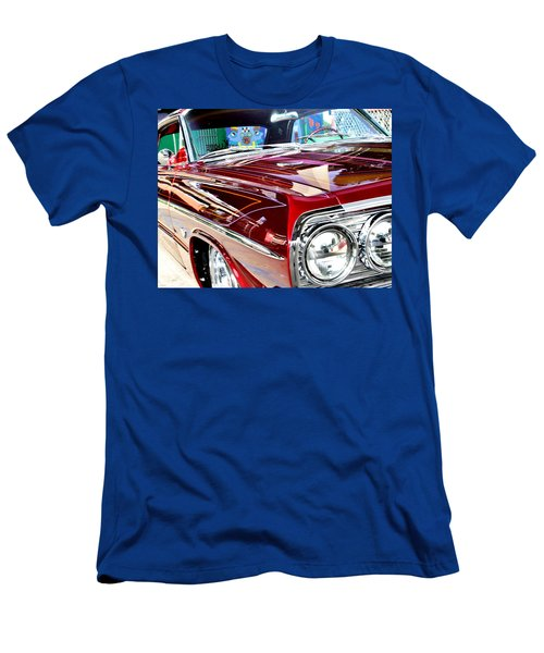 64 Chevy Impala Men's T-Shirt (Slim Fit) by Christopher Woods