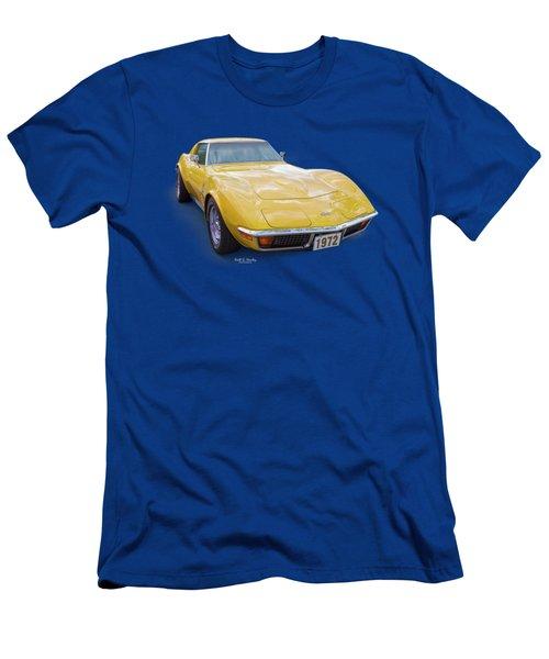72 Corvette Men's T-Shirt (Athletic Fit)