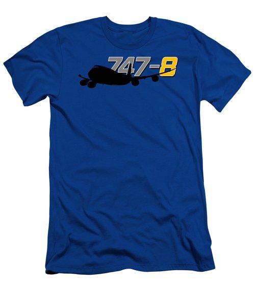 747-8 Men's T-Shirt (Athletic Fit)