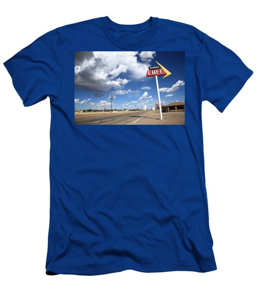 Route 66 Cafe Men's T-Shirt (Athletic Fit)
