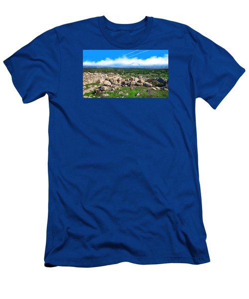 A Biblical Landscape Men's T-Shirt (Athletic Fit)