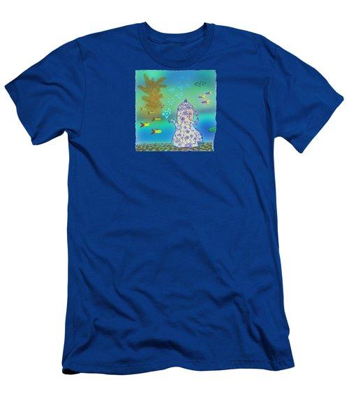 A Fishy Tea Pot Men's T-Shirt (Athletic Fit)